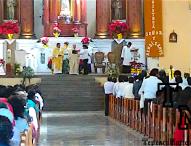Encabeza parroco de Tepeaca primeras celebraciones del 2017 en Ex Convento