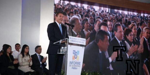 Rinde Moreno Valle sexto y último informe de su gobierno en Puebla