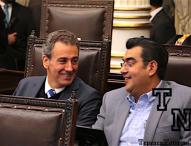 Si a la revisión de mochilas en escuelas, se pronuncia diputado de Tepeaca, Céspedes Peregina