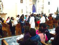 Celebran parroquia y tepeaquenses   Día de la Candelaria; asisten miles  a bendecir imagenes