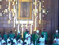 Acuden tepeaquenses  a peregrinación anual a la Basílica de Guadalupe; encabeza arzobispo