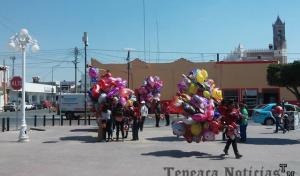 Bajas  ventas   en comercios y restaurantes de Tepeaca por Día de San Valentín