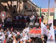 Visita Puebla López Obrador; llama a establecer la honestidad como forma de vida