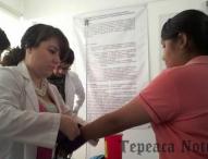 Realiza DAU jornada de salud  en preparatoria 2 de Octubre BUAP Tepeaca
