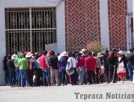 Protestan  en Tepeaca por liberacion de presunta secuestradora