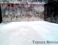 Retiran  50 toneladas  de basura, escombro y hierba del Ex convento de Tepeaca.