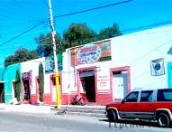 Roban  carnicería en Avenida Colón ,a una calle del centro de Tepeaca .