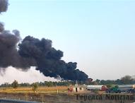 Una vez más en San Nicolás Tolentino, Tepeaca arde enésima toma clandestina