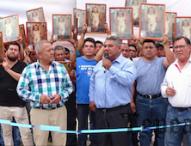 Inauguran comerciantes calle Traventino en Central de Abastos de Tepeaca