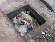 Cumple 100 días  la obra inconclusa  del millón del edil David Huerta en Tepeaca