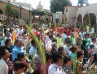 Inician celebraciones de Semana Santa  en Tepeaca con Domingo de Ramos