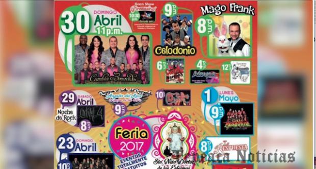 Presentan comerciantes eventos gratuitos en la  Feria del Niño Doctor de Tepeaca