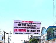 Presentan queja ante Auditoría por obras inconclusas  de David Huerta en Tepeaca