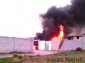 Explota bodega con combustible ilegal en San Bartolomé Hueyapan, Tepeaca
