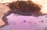Incontrolables las tomas clandestinas en Tepeaca;hallan otra fuga en San Bartolomé Hueyapan.