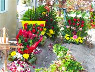 Felicitan a mamás  en Tepeaca por Día de la Madre; panteones se visten de color y fragancias  por madres difuntas