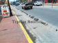 Presentan deterioro y abandono calles e implementos  de la nueva imagen urbana  de Tepeaca