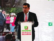 Presenta  diputado Céspedes Peregrina 3er Informe de actividades en Tepeaca