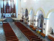 Con rehabilitación de espacios , dignifica  parroquia  Ex Convento de Tepeaca