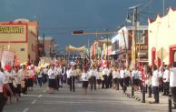 Con 500 fieles ,realiza parroquia de Tepeaca procesión del Sagrado Corazón de Jesús