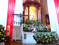 Con llamado a dar testimonio de Cristo, celebra parroquia de Tepeaca XII Domingo del Tiempo Ordinario