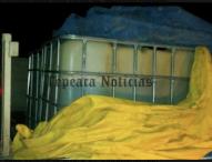 Aseguran  camionetas y pipa en San Felipe Tenextepec, Tepeaca