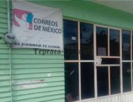 Desde junio del 2015 ,correos de México en Tepeaca solicitó apoyo al edil David Huerta