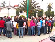 En el Barrio del Santuario Tepeaca , detienen vecinos a presunto ladrón de Camioneta