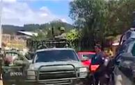 Enfrentamiento entre marinos y roba ductos deja  cinco  muertos en sierra poblana