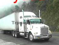 Incontrolable robo de vehículos de carga en Tepeaca ; roban trailer en Acatlan