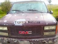 Aseguran  militares y seguridad estatal  camionetas y combustible  en Tepeaca