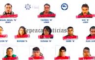 "Dan prision preventiva a 11 integrantes de la banda de ""Los Cuijes"""