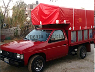 Imparable el robo de vehículos;roban camioneta en Central de abastos de Tepeaca