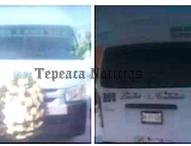 Roban  a pasajeros y también se llevan la combi en San Cristóbal los Nava, Tepeaca