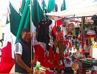 Inicia mes patrio en Tepeaca;adornos engalanan y visten al mes  de la independencia