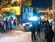 En San Jerónimo Ocotitlan lichan a presuntos ladrones de autos;uno fallece