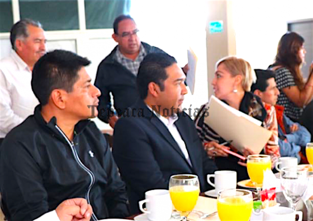 Pide Huerta Espinoza piso parejo al PAN pare elegir candidatos en Tepeaca