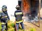 Controlan bomberos incendio en comerico de Tepeaca