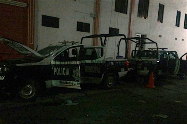 Detención de  delincuentes provoca disturbios  en Los Reyes de Juárez y en San Hipólito , Tepeaca
