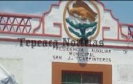 Amenazan con linchar a policias  en San José  Carpinteros, Tepeaca
