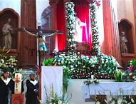 Celebra parroquia de Tepeaca festividad de Cristo Rey el Universo