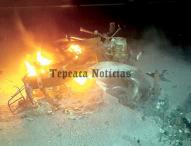 La libran delincuentes  de ser linchados en San Lorenzo La Joya, Tepeaca
