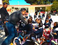 Construirán Domo en primaria Miguel Negrete de San Miguel en Tepeaca
