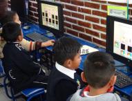 Inaugura Mario Rincón aula de medios en preescolar Cristiana Fernández de Tepeaca