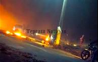Tras 9 horas cerrada, liberan pobladores carretera federal en San Hipólito, Tepeaca