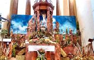 Encienden tercera vela de Adviento; inician posadas en barrios de Tepeaca